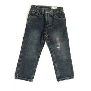 ARIZONA JEAN CO Toddler Boy Size 2T Blue Jeans NWT